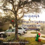Life Update & 5 Things I'm Looking Forward to on Christmas