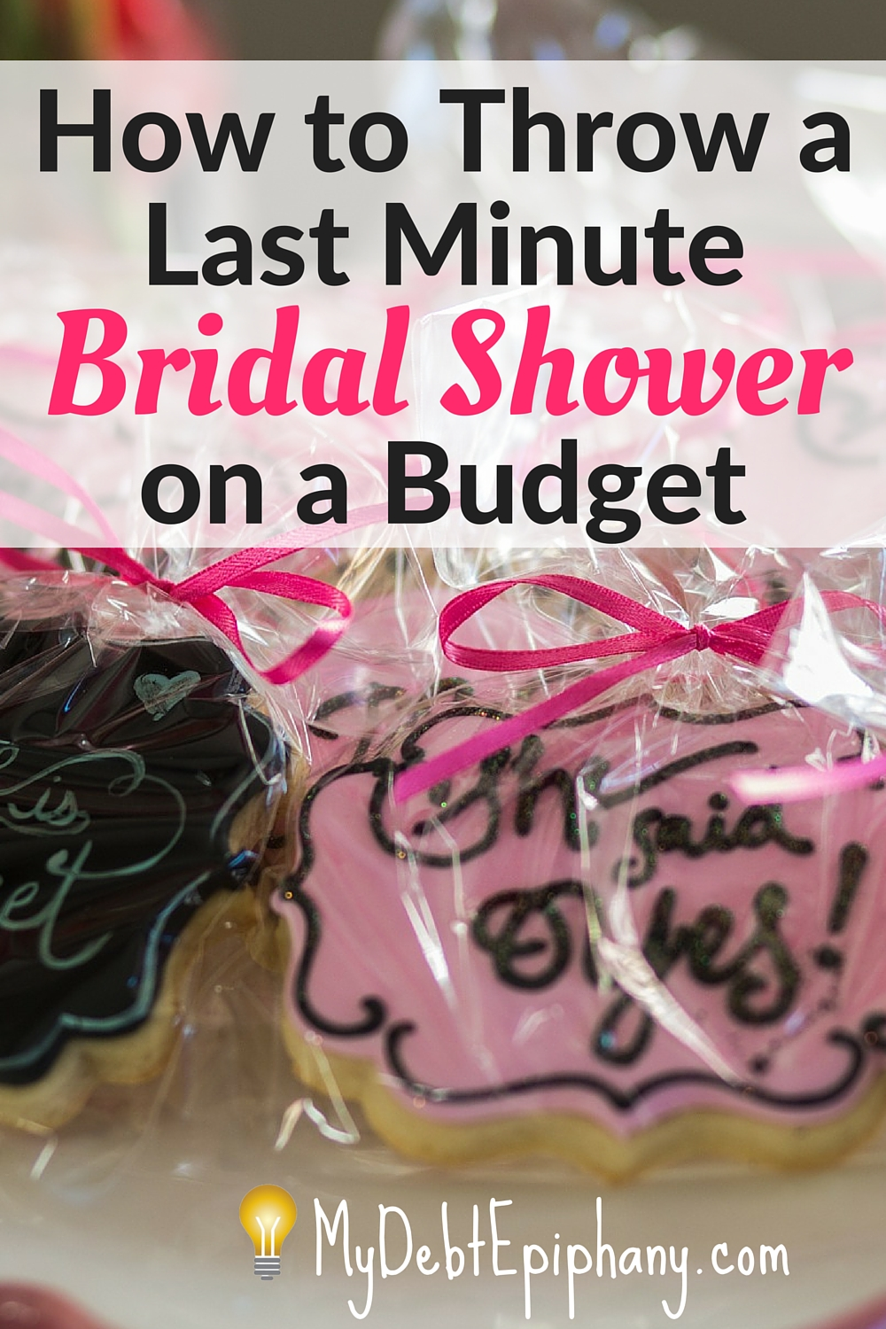 last minute bridal shower