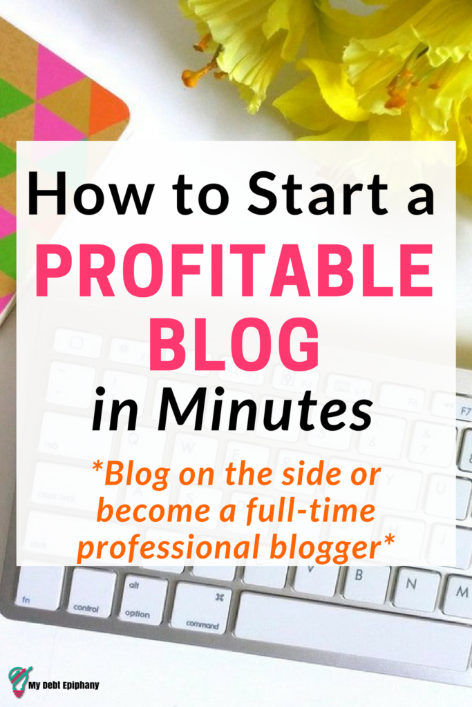 start food blog profitable