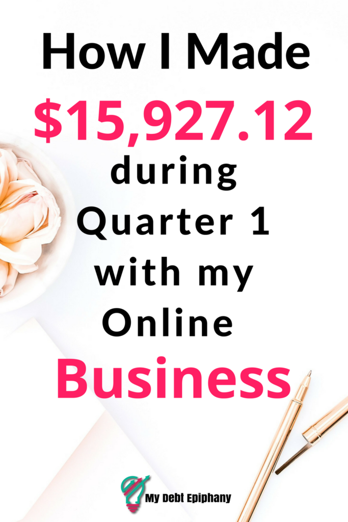 How I Made Money Quarter 1