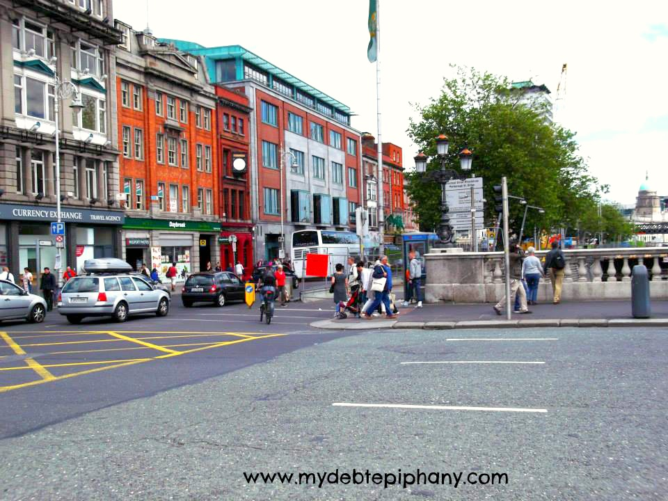 Downtown Dublin, Ireland