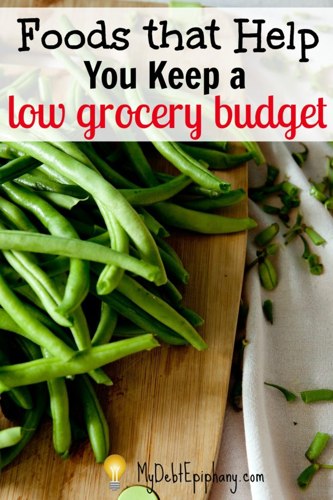 Foods that Help You Keep a Low Grocery Budget
