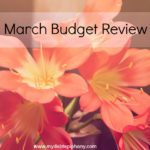 March Budget Review