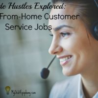 Side Hustles Explored: Work-From-Home Customer Service Jobs