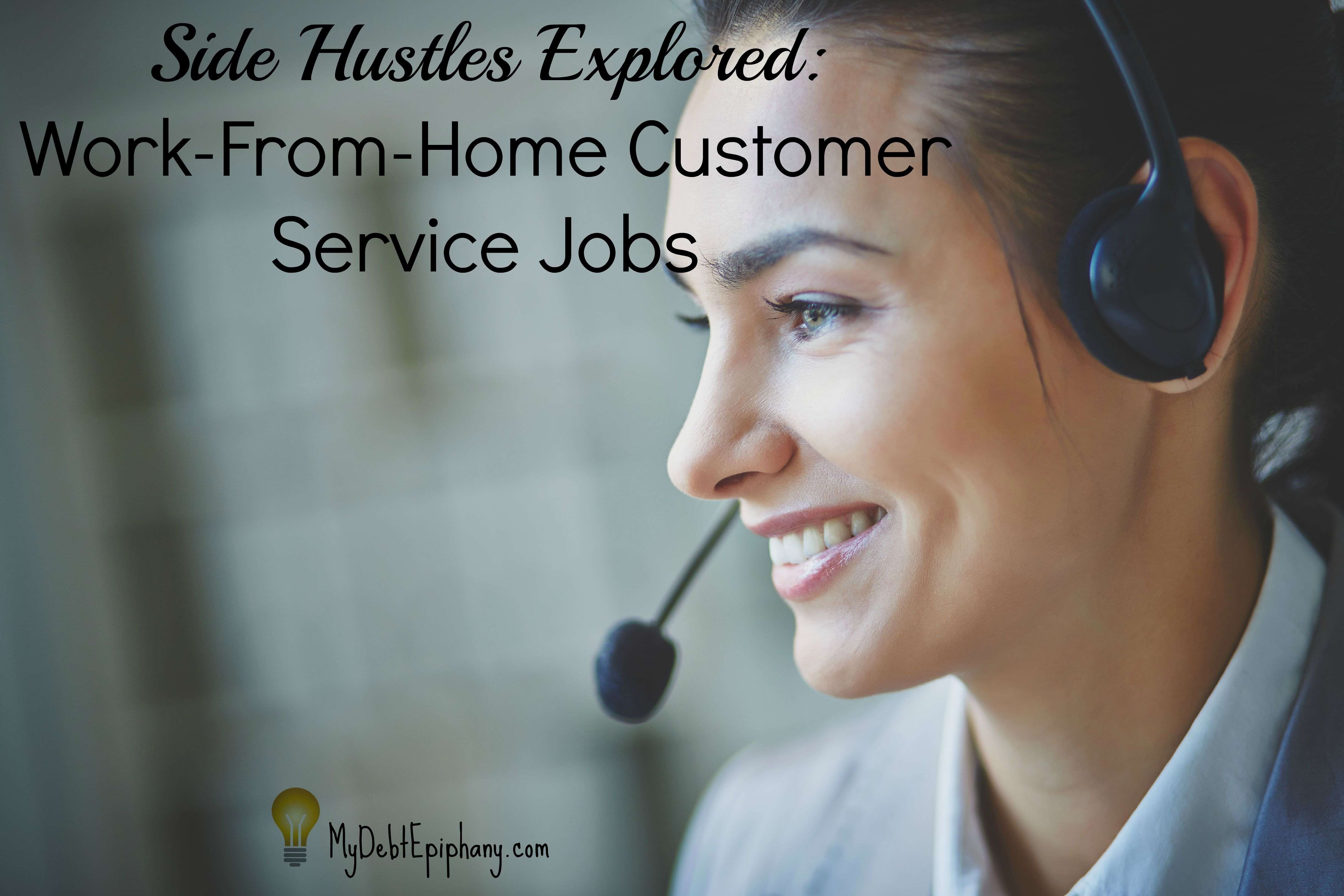 work from home customer service jobs side hustles explored work from home customer service 30674