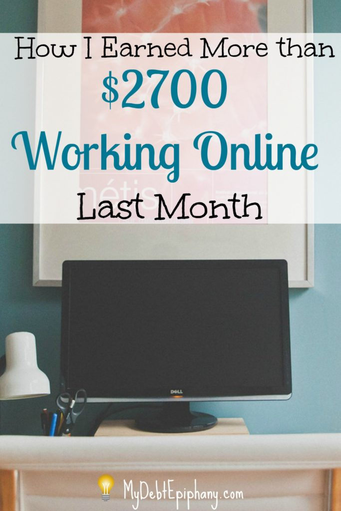 Blogging and freelancing has been a fun and creative outlet for me. Find out how I earned more than $2k from freelance writing and working online last month.