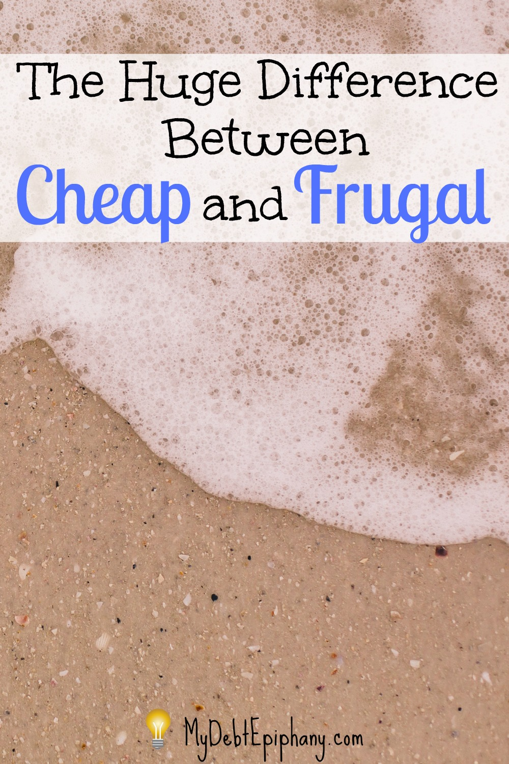 Do you have any pet peeves related to finances? Mine is when people don't understand the huge difference between frugal and cheap.