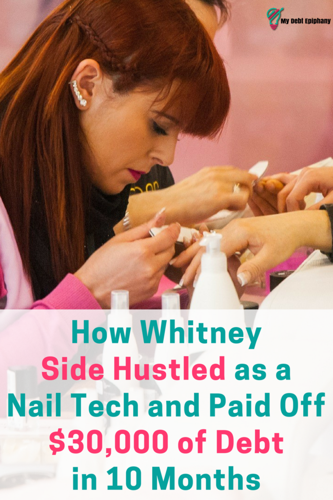 How Whitney Side Hustled as a Nail Tech