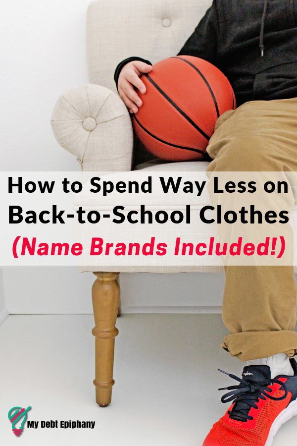 save money on back to school outfits my debt epiphany