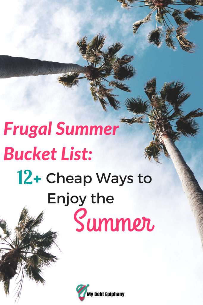 Frugal Summer Bucket List