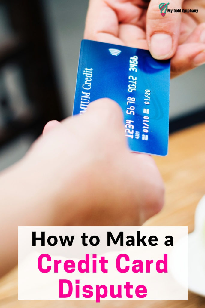 How To Make a Credit Card Dispute