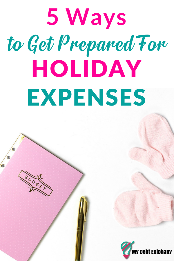preparing for holiday spending my debt epiphany