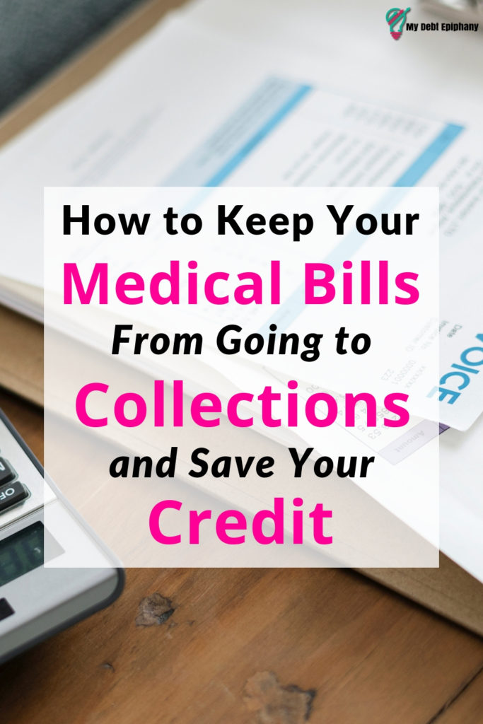 How to Keep Medical Bills From Going to Collections and Save Your Credit