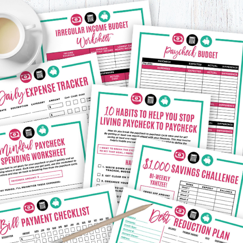 budget beyond your paycheck bundle