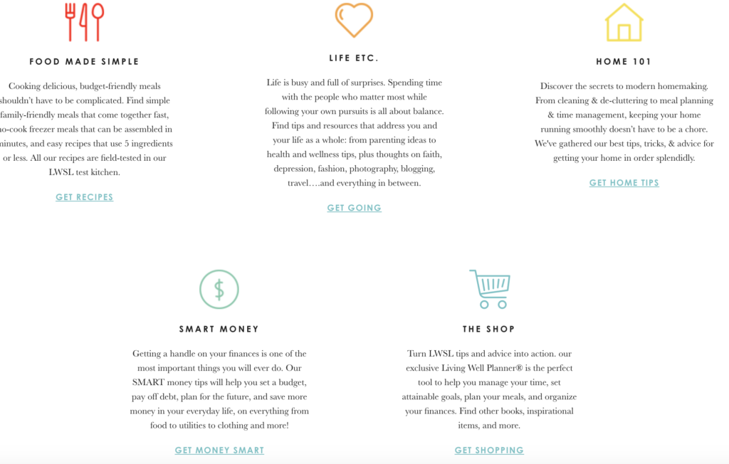 How to Use the Living Well Planner to Meet Your Goals my debt epiphany