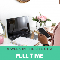 Week in the Life of a work from home writer