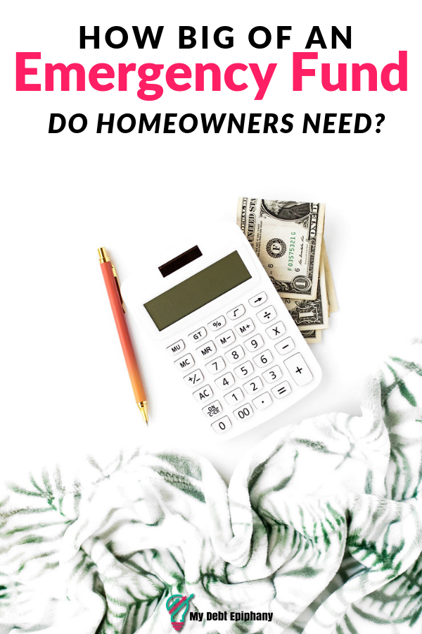 How Big of an Emergency Fund Do Homeowners Need?