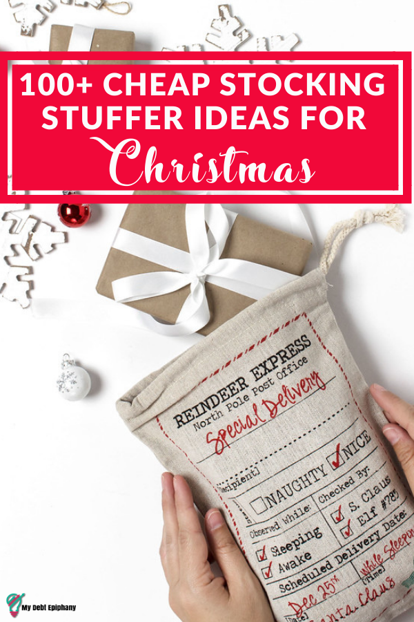 100+ Cheap Stocking Stuffer Ideas my debt epiphany